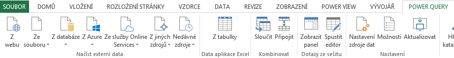 ms power query excel